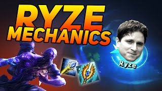 getlinkyoutube.com-FIRST TIME RYZE MECHANICS | Stream Highlights #8 | League of Legends (LOL)
