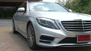getlinkyoutube.com-Test Drive Mercedes-Benz S500e AMG & BMW 740 Li by AUTOBILD Thailand.