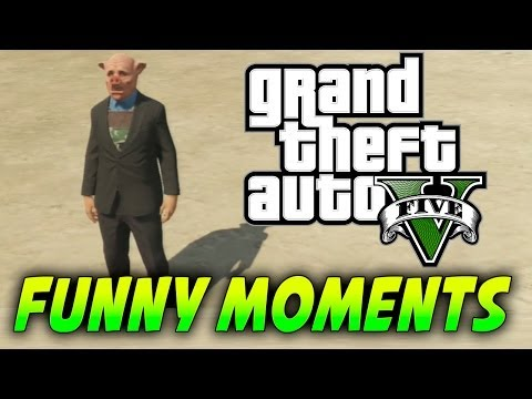 GTA V Online Funny Moments - James Bond 007, Accidentes Fatales y FAILS | Galgo96ESP