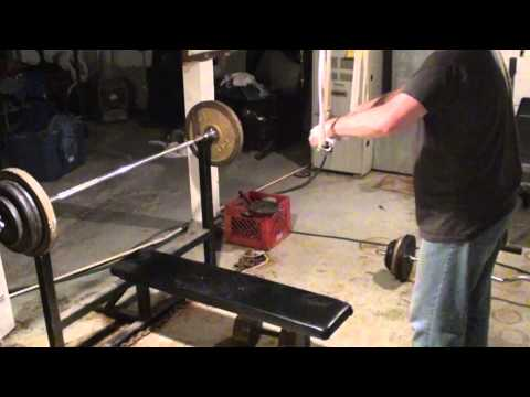 Homemade Weightlifting Equipment - Cheap Home Gym Fitness Training