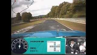 Nurburgring Jaguar XKR-S Fast Lap