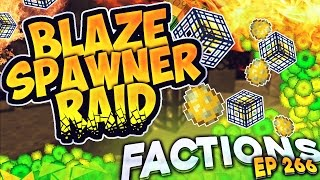 getlinkyoutube.com-Minecraft Factions #266 - Blaze Spawner Raid!  (Minecraft Raiding)