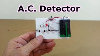 getlinkyoutube.com-AC Line and Neutral Detector without Contact
