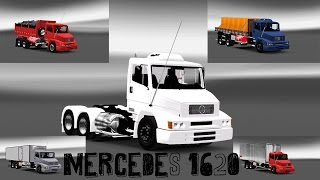 getlinkyoutube.com-ETS2 -  MOD MERCEDES 1620 - SUPER PERSONALIZADA