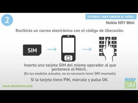 Liberar Nokia N97 mini, Desbloquear Nokia N97 mini