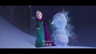 "Disney's frozen ""Let it Go"" in fast(speed up)version(25 languages) /冰雪奇緣(白雪皇后/冰雪大冒險) let it go-加快版"