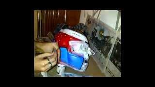 getlinkyoutube.com-Custom painting a race helmet