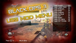 getlinkyoutube.com-Black Ops 3 USB Mod Menu w/ Download For PS4, Xbox One, PS3, Xbox 360 [2015] [Ninja] [No Jailbreak]