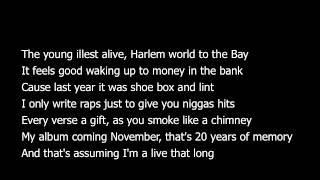 getlinkyoutube.com-Asap Rocky- Leaf (Lyrics)
