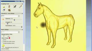 getlinkyoutube.com-ArtCAM JewelSmith 2009 - Horse Modelling