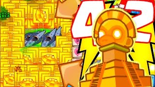 getlinkyoutube.com-NEW WORLD RECORD!? - 42 TEMPLES! - Bloons TD Battles Strategy