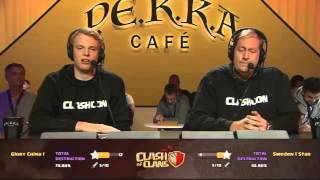 getlinkyoutube.com-Video Grand Final COC China vs Swedia KEREN