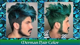 getlinkyoutube.com-Merman Hair Color