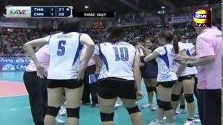 getlinkyoutube.com-2013 Asian Women Volleyball Championship[Semifinal]:Thailand Vs China