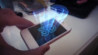 getlinkyoutube.com-New iPhone 3D Hologram App [ORIGINAL]