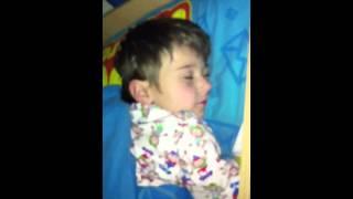 getlinkyoutube.com-Waking up a 5 year old