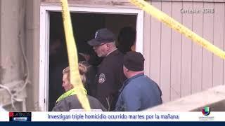 Los Oficiales de Policía de Kansas investigan un misterioso triple homicidio