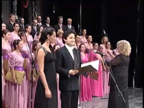 Vinska pesma - opera La Traviata - G.Verdi - solisti: Mr.Ljubica Vraneš & Ljubomir Popović