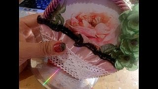 "getlinkyoutube.com-OLD CDs""..Just Fun Craft Ideas"