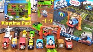getlinkyoutube.com-Thomas & Friends' Accidents Happen Playtime! Surprise Egg Thomas the Train and Trackmaster Toys