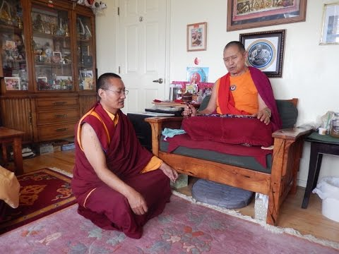4. Teachings on the meditation stage of Mahamudra, Garchen Rinpoche, 7/30/15