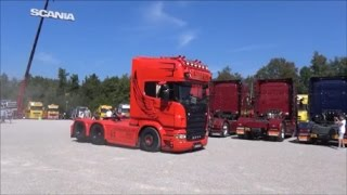 getlinkyoutube.com-Oberland Trucker Treffen (OTT) Bad Tölz - Die Trucks kommen