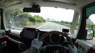 My N-BOX SLASH④【洗車・高速道路走行】