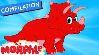 getlinkyoutube.com-My Pet Dinosaur: Triceratops -  (+ Dinosaur compilation) My Magic Pet Morphle Episode #27