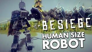 getlinkyoutube.com-SMALLEST ROBOT EVER | Besiege #52 | Player Creations!