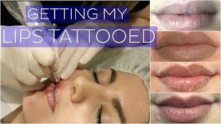getlinkyoutube.com-Getting My Lips Tattooed // Cosmetic Tattoo VLOG // Rachael Jade