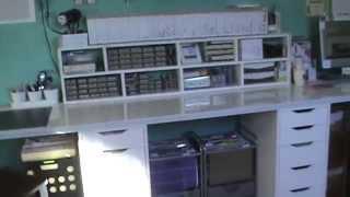 getlinkyoutube.com-My Craft Room Desk
