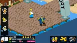 getlinkyoutube.com-The Simpsons Tapped Out Itchy And Scratchy Store Level 30 Ending Mission City Hall Nonsense HD Ep 32