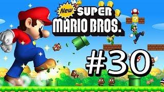 Guía New Super Mario Bros DS # 30 ( Mundo : 8 - Castillo 2 - Pelea Final + Creditos )