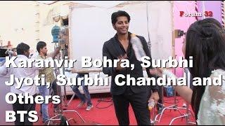 getlinkyoutube.com-Qubool Hai | BTS | Fun with the cast - Karanvir Bohra, Surbhi Jyoti And Others | Part 8