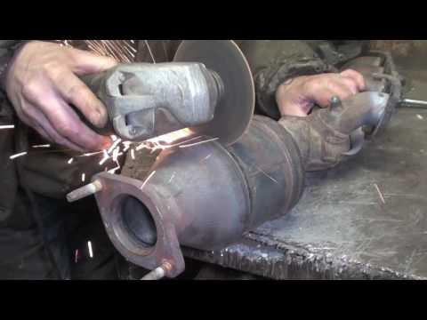 Ремонт катализатора на автомобиле Infiniti QX56 2012 - Мир Глушителей