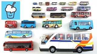 getlinkyoutube.com-Bus for kids with tomica トミカ VooV ブーブ 変身 Lego Playmobil Tayo Anpanman アンパンマン