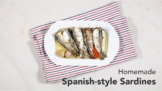 Homemade Spanish-style Sardines Recipe | Yummy Ph