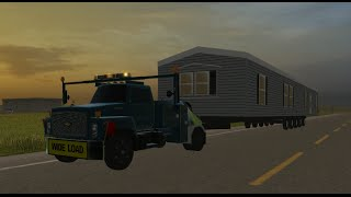 getlinkyoutube.com-Farming Simulator 2013- Hauling Mobile Homes in Salem!