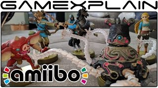 Zelda: Breath of the Wild amiibo UNBOXING! (Link, Zelda, Guardian, & Bokoblin)