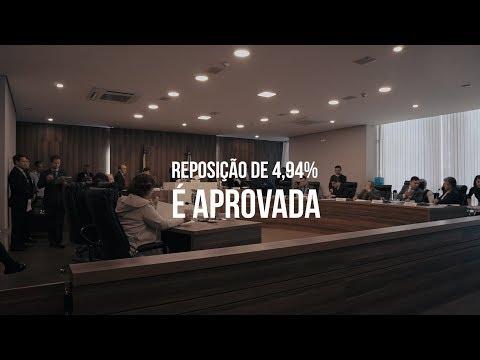 Reposição de 4,94% é aprovada na CCJ em sessão extraordinária