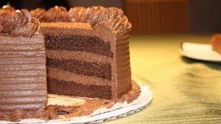 getlinkyoutube.com-Chocolate ganache cake recipe and decoration