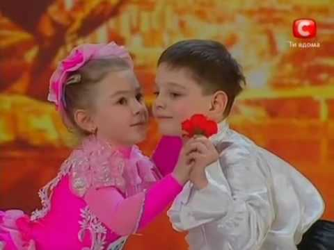 Ukraine's Got Talent Very Cute Children Performance english