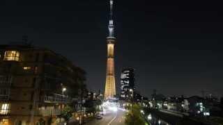 getlinkyoutube.com-4K 画質 東京スカイツリー微速度撮影(Tokyo skytree & TimeLapse)[4K]