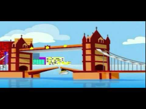 Nursery Rhymes - London Bridge is Falling Down -SZOllpECvFk