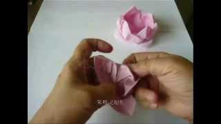 莲花 (Lotus)   折纸 DIY