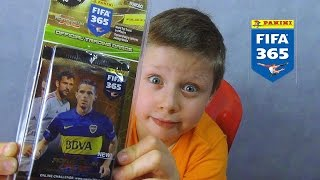 getlinkyoutube.com-PANINI FIFA 365 BLISTER karty LEWANDOWSKI !