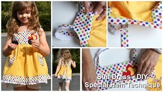getlinkyoutube.com-How to sew a Sun Dress    (Natalie Pattern)