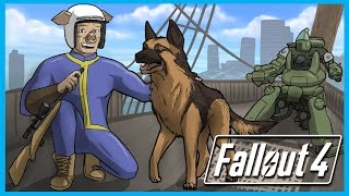 getlinkyoutube.com-Fallout 4 Funny Adventures Ep. 1 - Raider Bases and the U.S.S. Constitution! (FO4 Funny Moments)