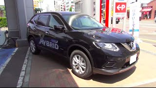 "getlinkyoutube.com-2015 NISSAN X-TRAIL HYBRID 20X ""Emergency Brake Package"" - Exterior & Interior"
