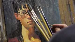 getlinkyoutube.com-Alla Prima Painting Demo - Jim Auckland
